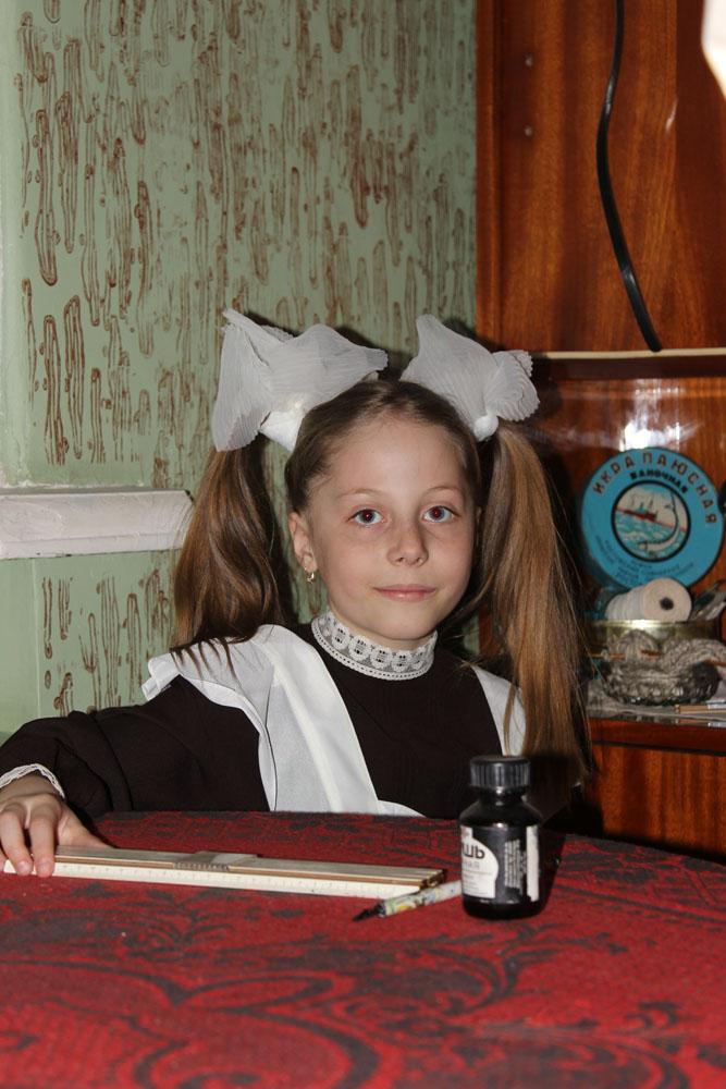 Школьница Софья